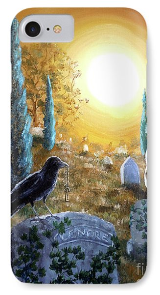 And This Mystery Explore IPhone Case by Laura Iverson