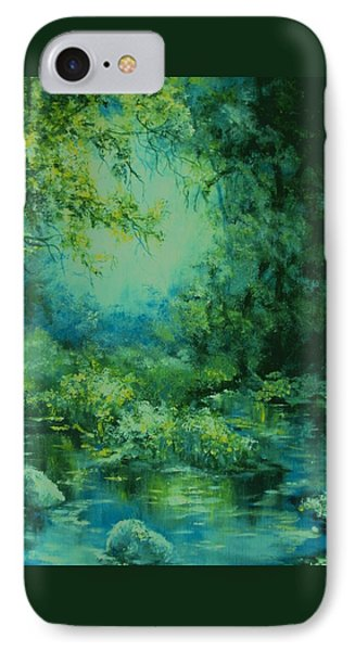 And Time Stood Still IPhone Case by Mary Wolf