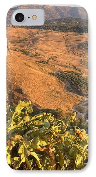 IPhone Case featuring the photograph Andalucian Golden Valley by Ian Middleton
