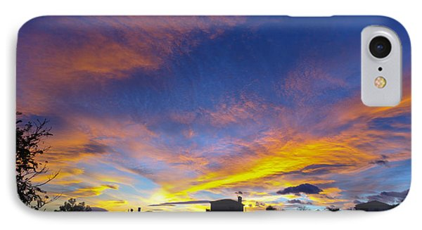 Andalusian Sunset IPhone Case by Perry Van Munster