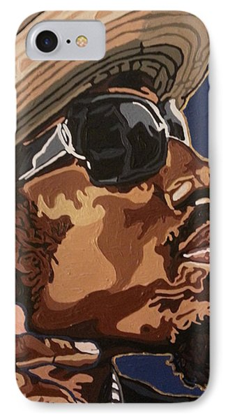 IPhone Case featuring the painting Andre 3000 by Rachel Natalie Rawlins