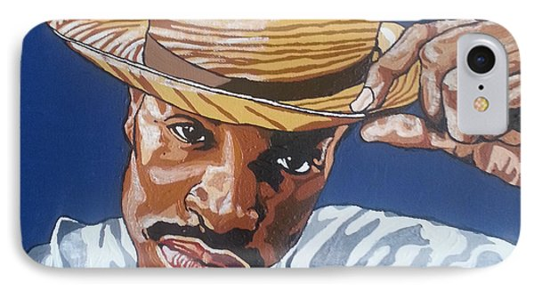IPhone Case featuring the painting Andre Benjamin by Rachel Natalie Rawlins