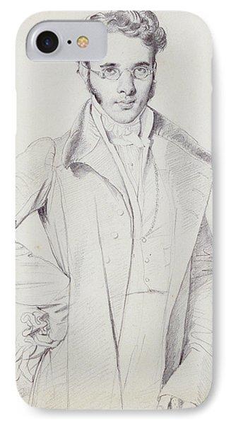Andre-benoit Barreau, Dit Taurel IPhone Case by Jean Auguste Dominique Ingres