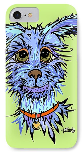 IPhone Case featuring the drawing Andre by Tanielle Childers