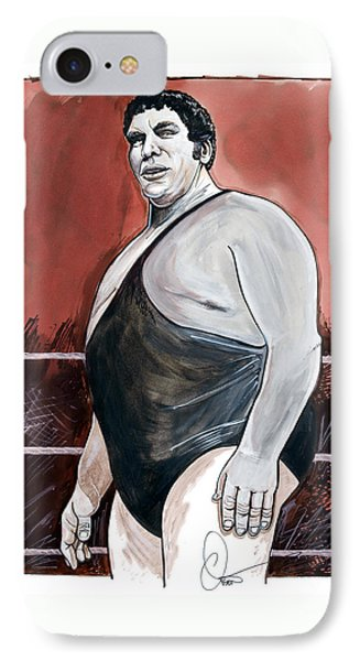 Andre The Giant Phone Case by Dave Olsen