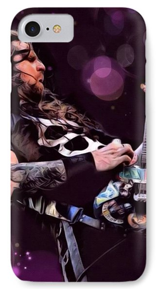 Andreas Kisser Painting IPhone Case