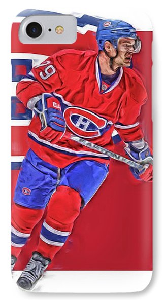 Andrei Markov Montreal Canadiens Oil Art IPhone Case