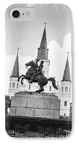 Andrew Jackson - Jackson Square New Orleans IPhone Case by Scott Pellegrin