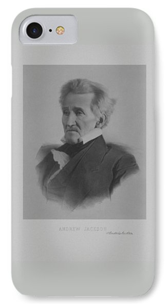 Andrew Jackson Phone Case by War Is Hell Store