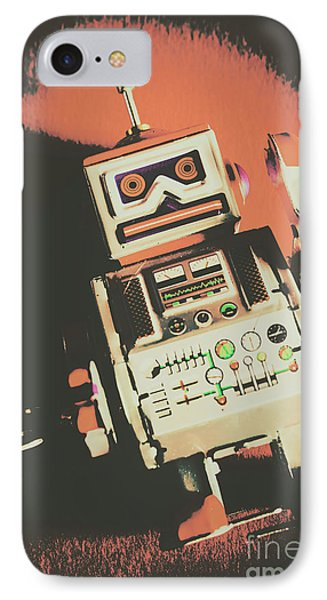 Android Short Circuit  IPhone Case by Jorgo Photography - Wall Art Gallery