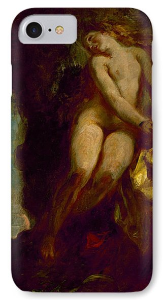 Andromeda IPhone Case by Eugene Delacroix
