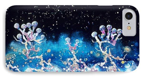 Andromeda Starflowers Phone Case by Lee Pantas