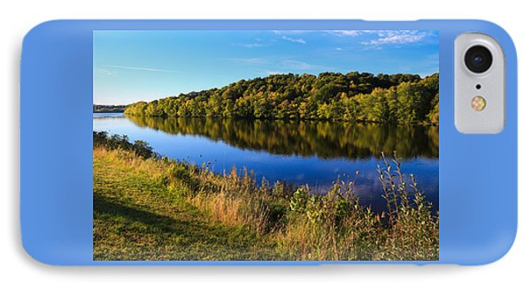 Androscoggin Morning IPhone Case by Laurie Breton