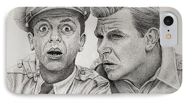 Andy And Barney IPhone Case by Rita Niblock