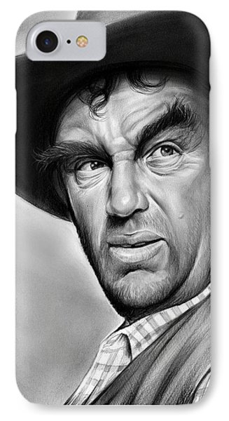 Andy Devine IPhone Case by Greg Joens