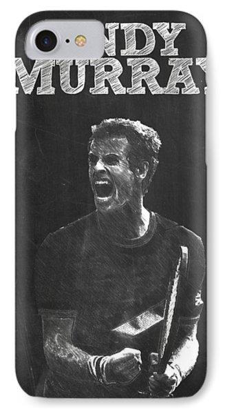 Andy Murray IPhone 7 Case by Semih Yurdabak