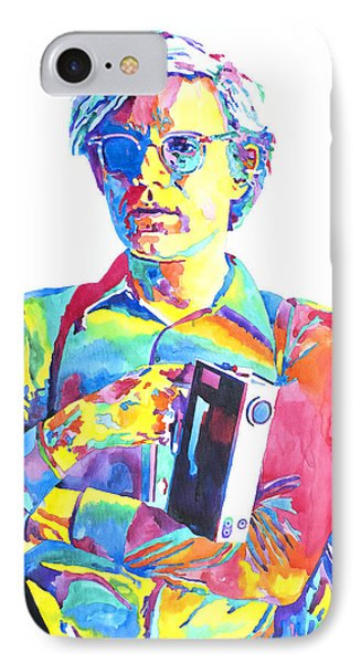 Andy Warhol - Media Man IPhone Case