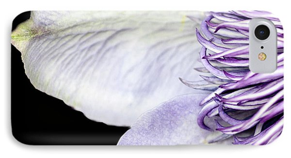 IPhone Case featuring the photograph Anemone Center Edge by Rebecca Cozart