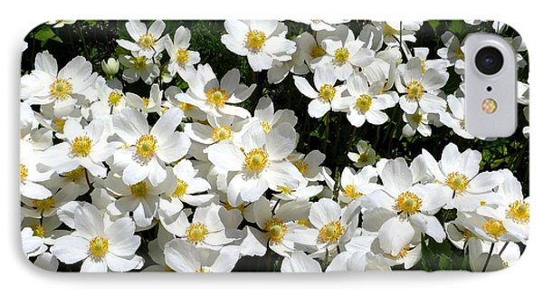IPhone Case featuring the photograph Anemone Profusion by Will Borden