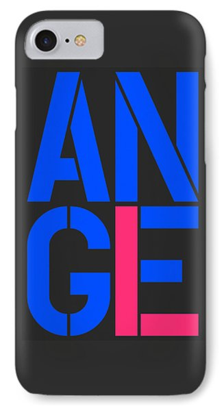 Angel-10 IPhone Case by Three Dots