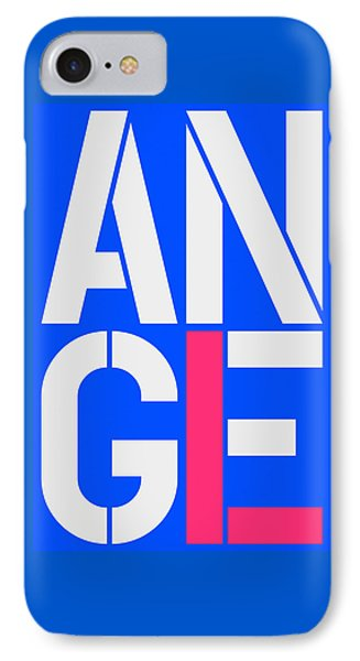 Angel-18 IPhone Case by Three Dots