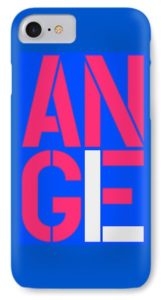Angel-19 IPhone Case by Three Dots