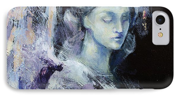 Angel 2 IPhone Case by Dorina Costras