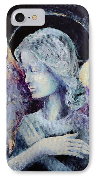 Angel 3 IPhone Case by Dorina Costras