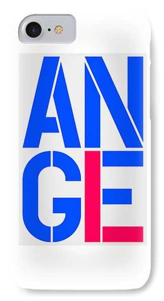 Angel-4 IPhone Case by Three Dots