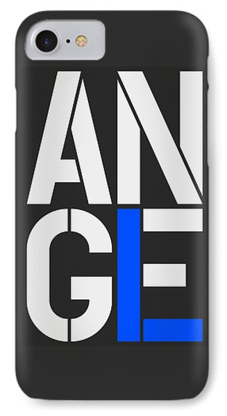 Angel-5 IPhone Case by Three Dots