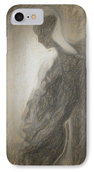 Angel Backlit IPhone Case by Quim Abella