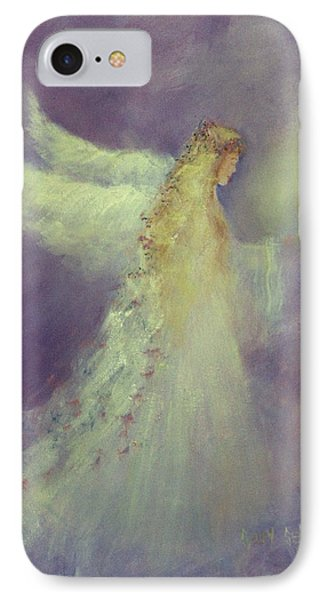 Angel Bright Phone Case by Sally Seago
