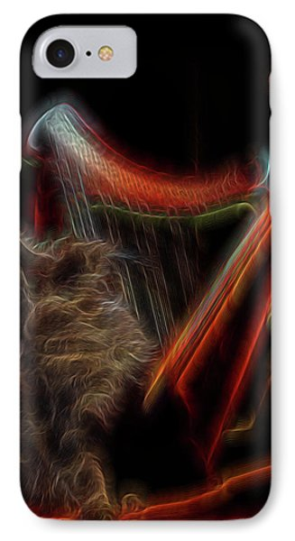Angel Cat Phone Case by William Horden