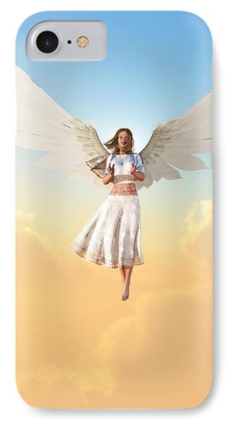 Angel IPhone Case by Christian Art