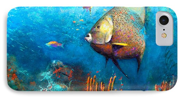 Angel Fish IPhone Case by Andrew King