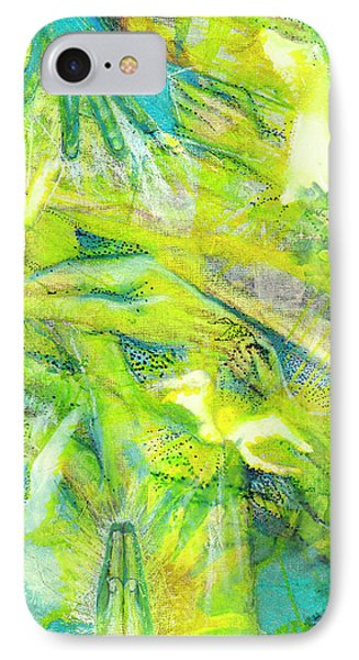 IPhone Case featuring the painting Angel Forest by Kym Nicolas