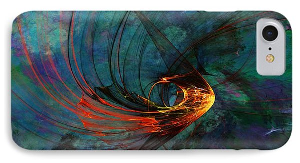 Angel From The Deep IPhone Case by David Lane