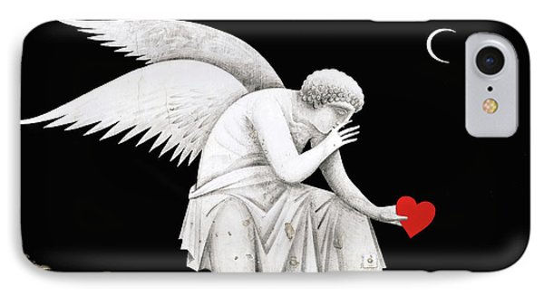 Angel Heart IPhone Case by Munir Alawi
