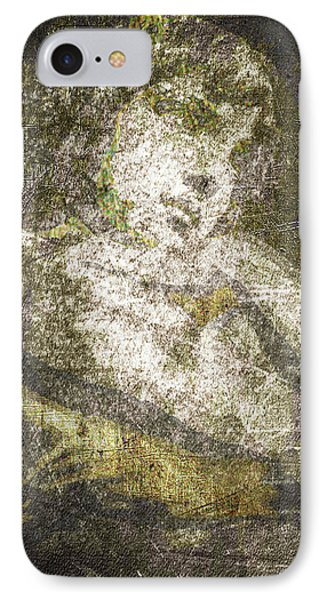 Angel In Bronze And Copper IPhone Case