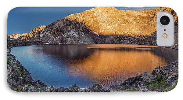 Angel Lake IPhone Case by Leland D Howard