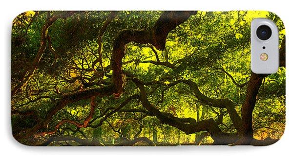 Angel Oak Limbs 2 IPhone Case