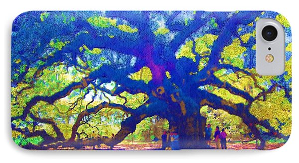 IPhone Case featuring the photograph Angel Oak Tree by Donna Bentley