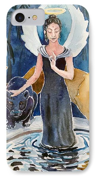 Angel Of Balance And Harmony IPhone Case