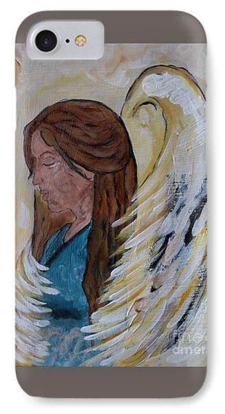 Angel Of Comfort IPhone Case by Ella Kaye Dickey