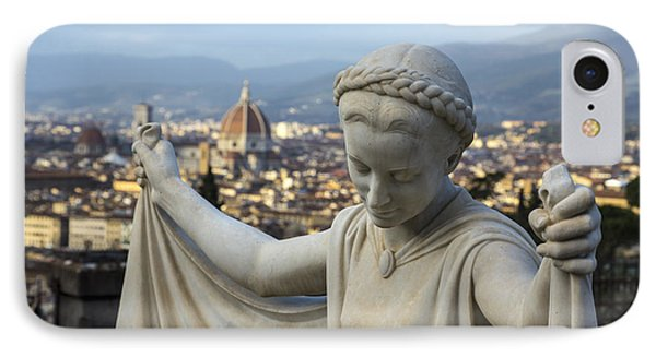 Angel Of Firenze IPhone Case