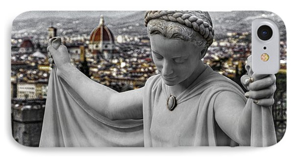 Angel Of Florence IPhone Case