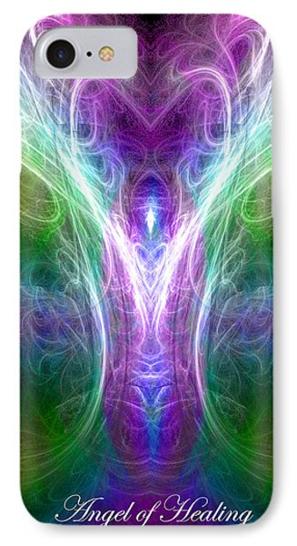 Angel Of Healing IPhone Case by Diana Haronis