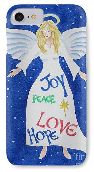 Angel Of Hope IPhone Case by Deborah Ronglien