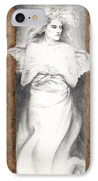 IPhone Case featuring the painting Angel Of Light by Ragen Mendenhall