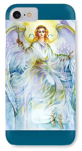 Angel Of Love Phone Case by Karen Showell